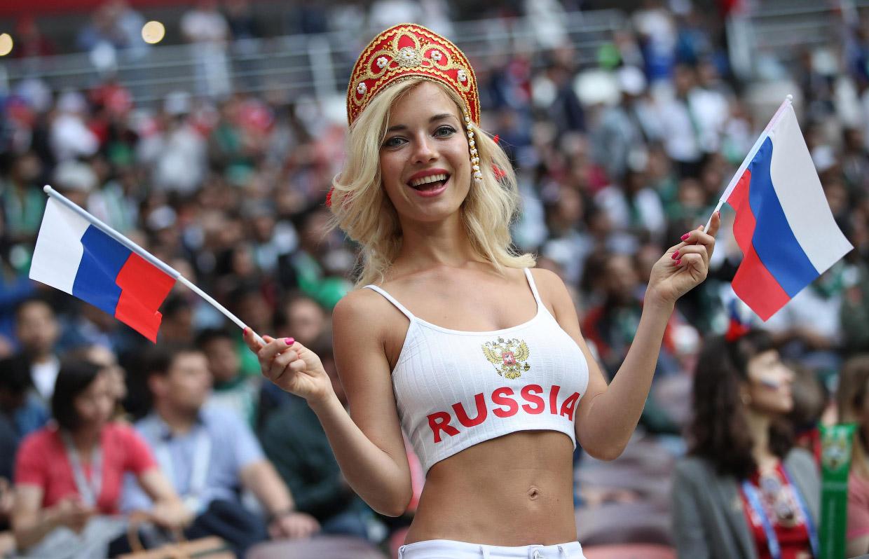 Футбольные фанаты Чемпионата мира 2018 в кадре
