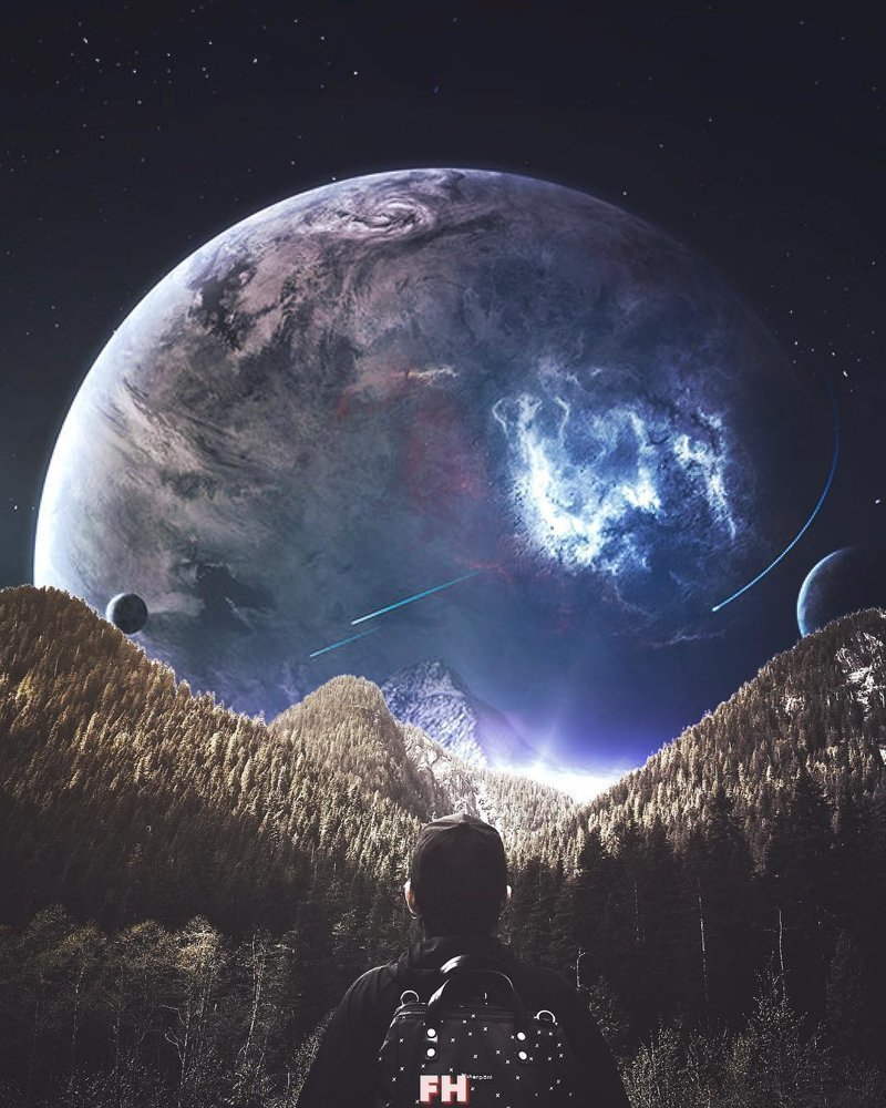 Пейзажи из другого измерения от Фултона Хоббса