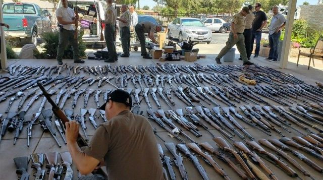 В доме пожилого американца обнаружили арсенал оружия