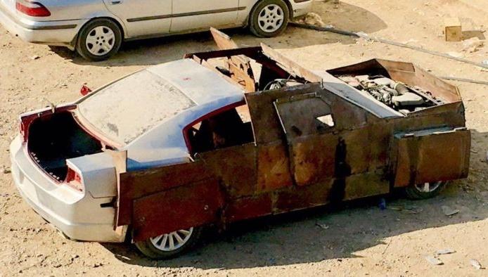 Dodge Charger боевиков ИГИЛ
