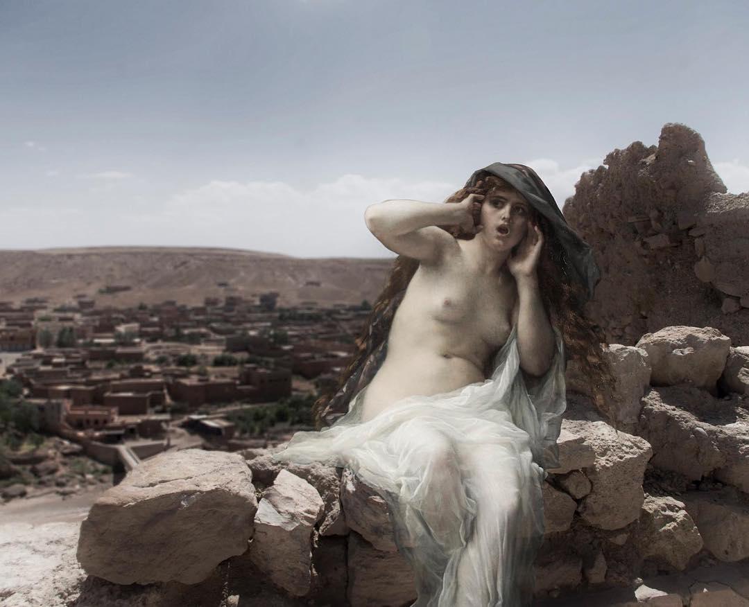 Персонажи классической живописи в современном мире