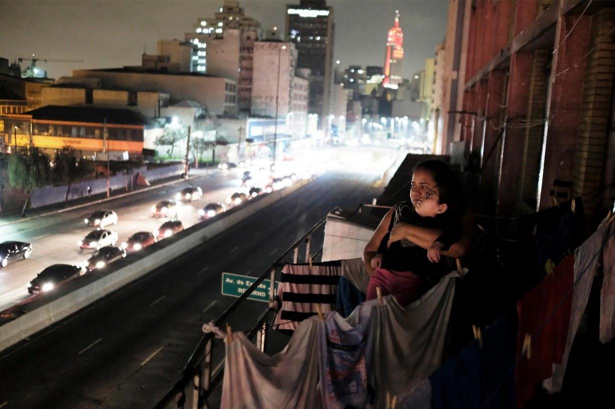 Жизнь сквоттеров на заброшенной швейной фабрике в Сан-Паулу