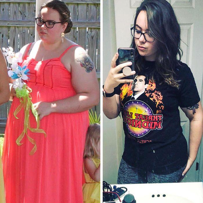 Люди, которым удалось избавиться от лишнего веса