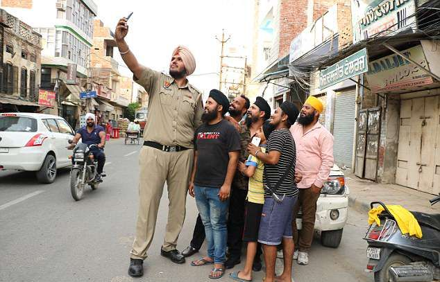 Самый высокий полицейский в мире