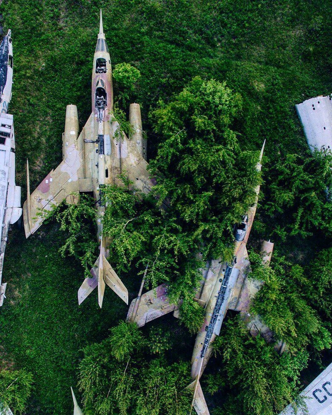 Заброшенные места России на аэрофотоснимках Kosmaj Project