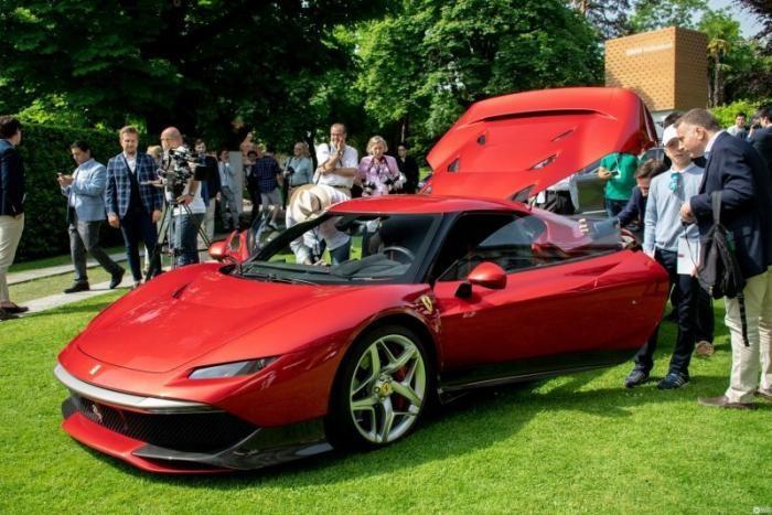 Итальянцы выпустили уникальный спорткар Ferrari SP38