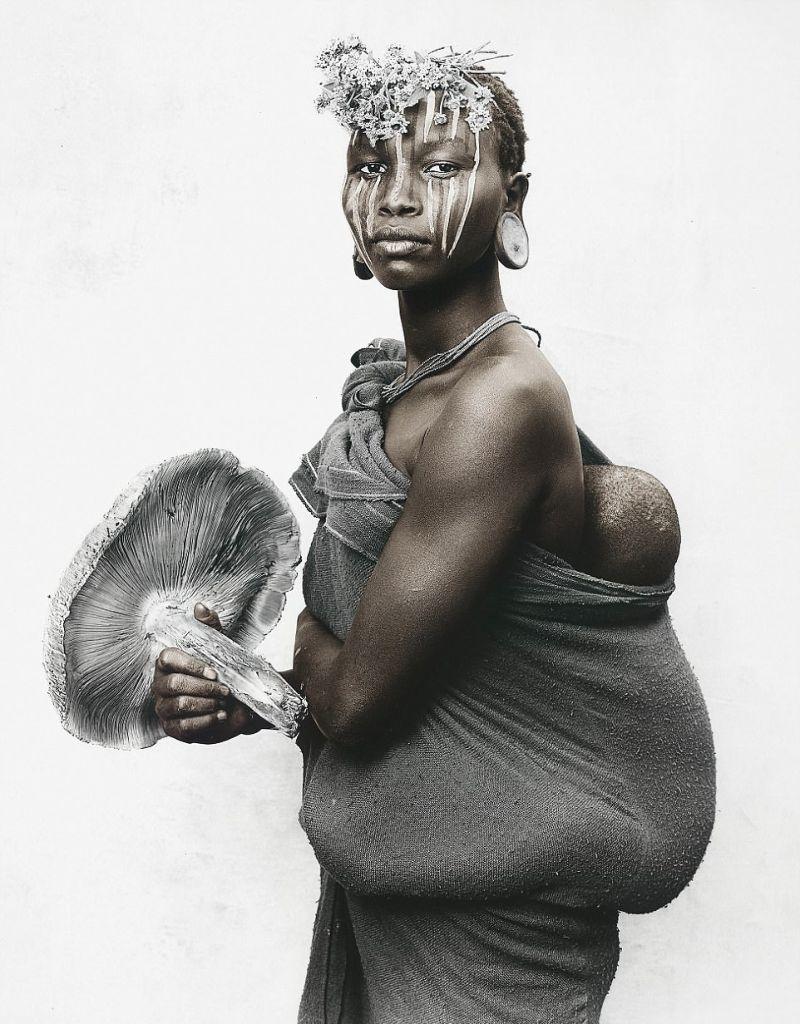 Эфиопское племя сури на снимках немецкого фотографа
