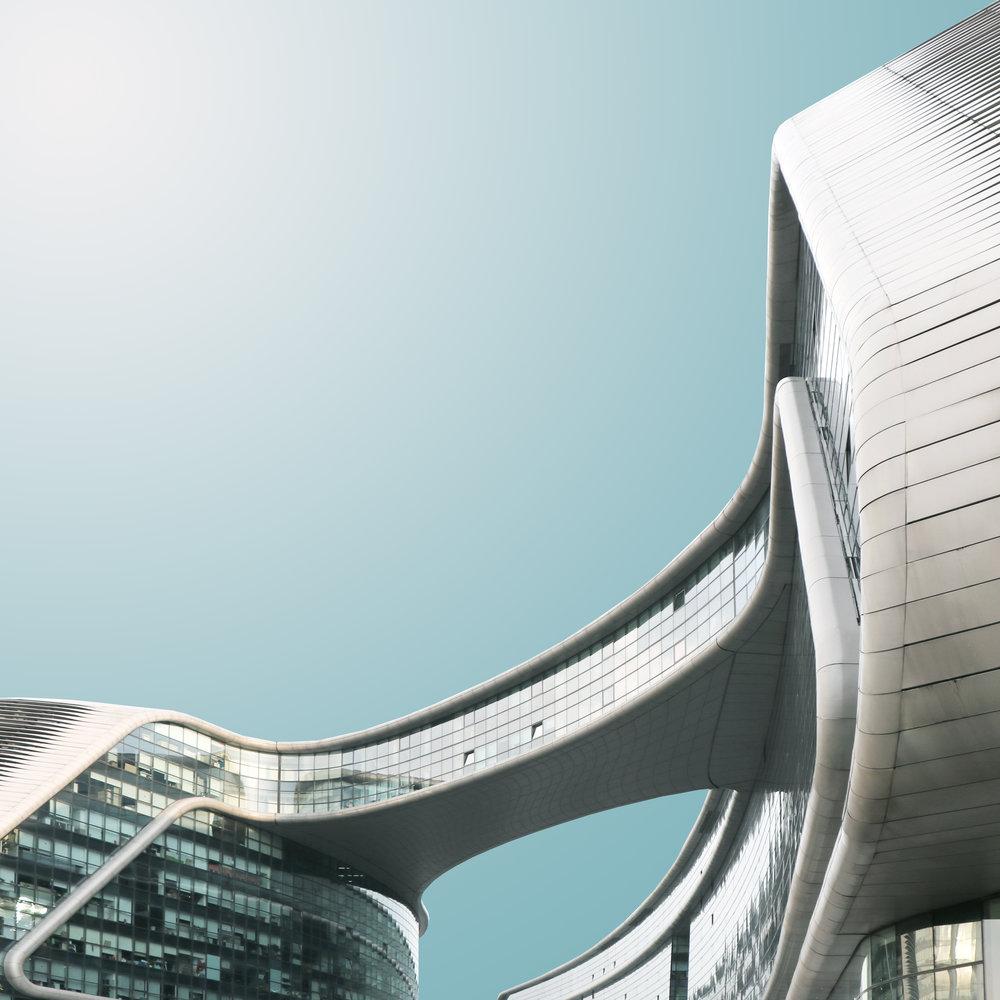 Геометрия архитектуры Китая от Криса Провуста