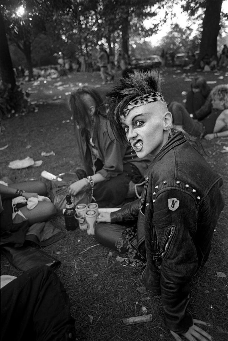 Портреты из восьмидесятых от фотографа Дерека Риджерса