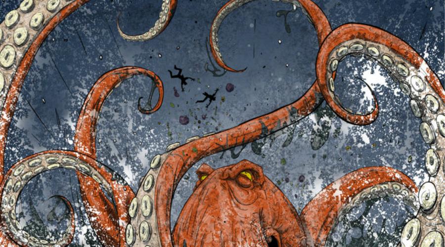 Случаи нападения осьминогов на человека