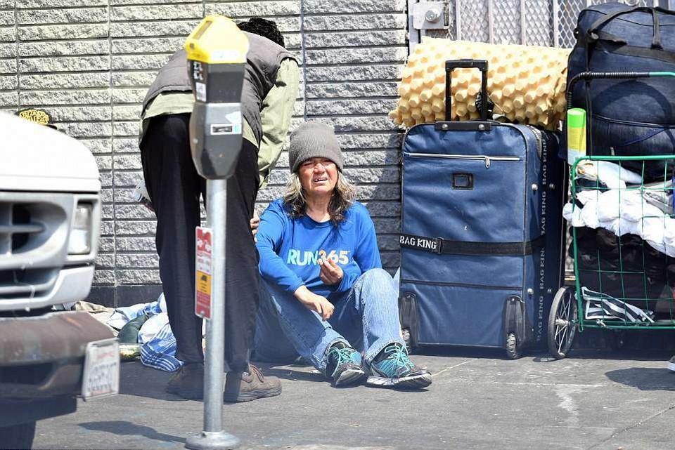 Бомжи и наркоманы угрожают благополучию Сан-Франциско