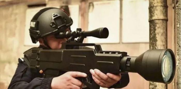 Лазерная винтовка от китайских ученых