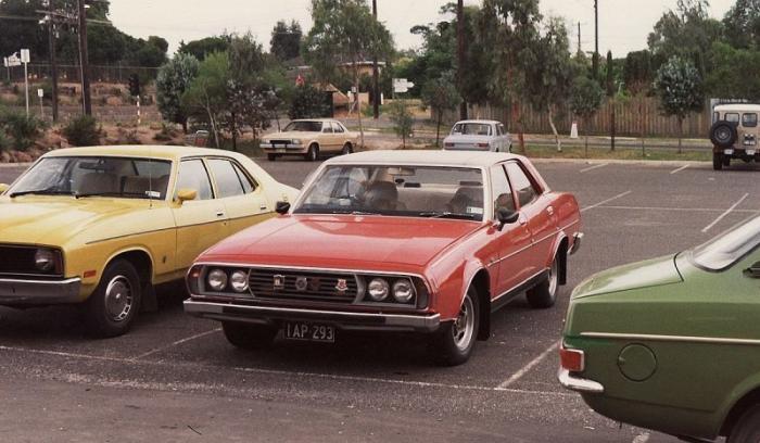 Leyland P76: провал большого австралийского седана