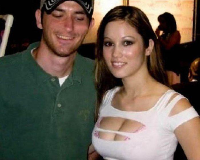 Мужчины неосознанно глазеют на женскую грудь