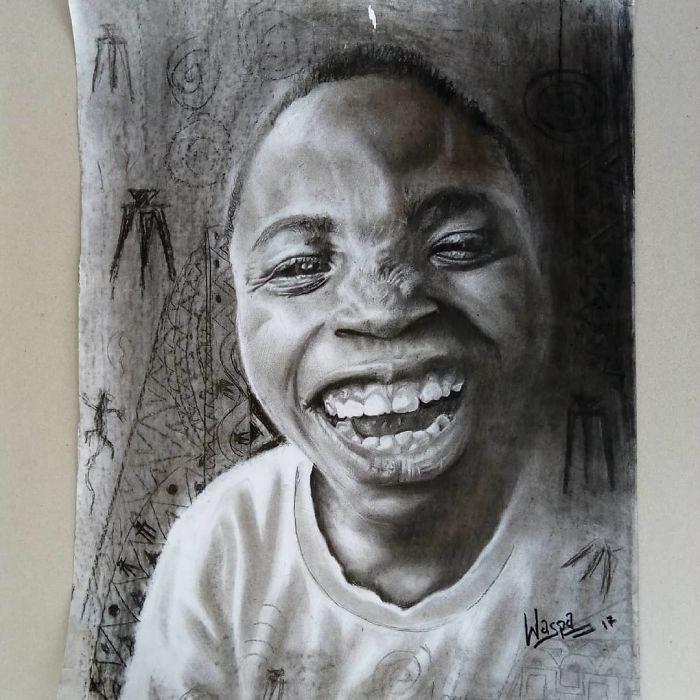 Гиперреалистичные картины 11-летнего художника
