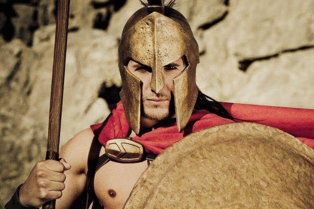 Как спартанцы готовили лучших воинов мира
