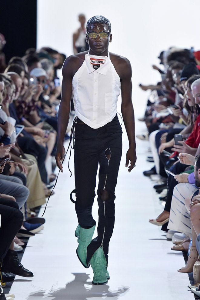 Новое модное уродство - двуликие ковбойские сапоги