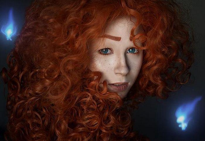 Профессиональный макияж от королевы косплея