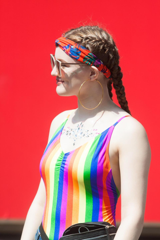 Ежегодный гей-парад в Лондоне