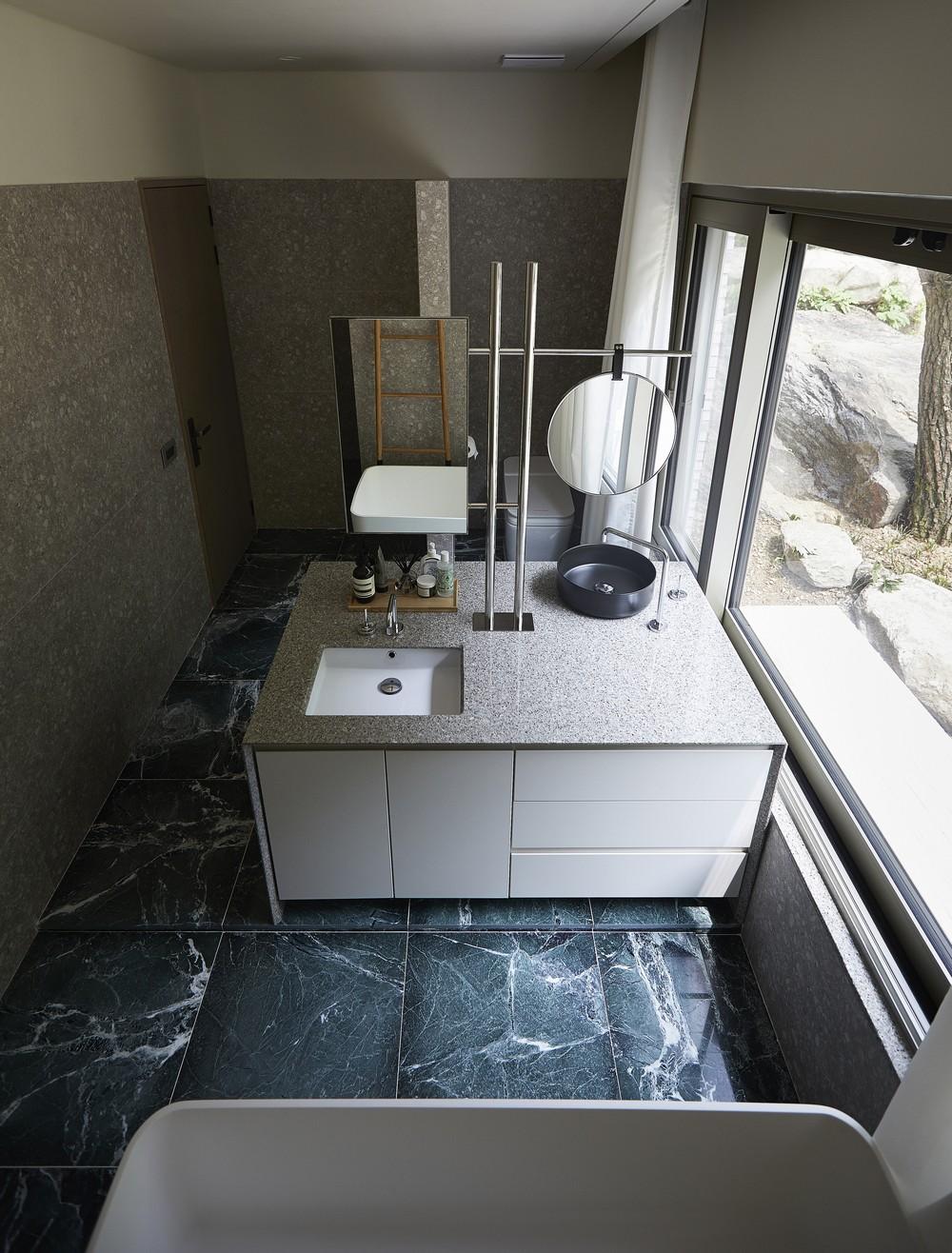 Простой дом в Южной Корее