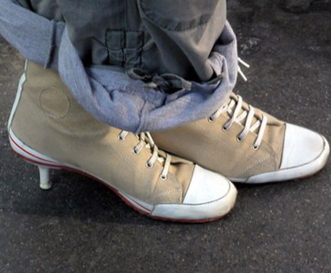 Уродливая обувь от дизайнеров с больной фантазией