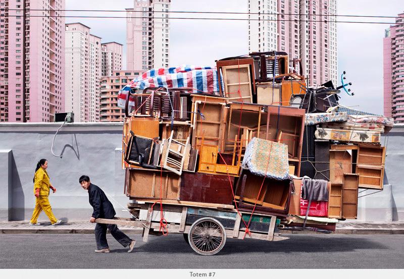 Фотопроект Тотемы о китайской мечте