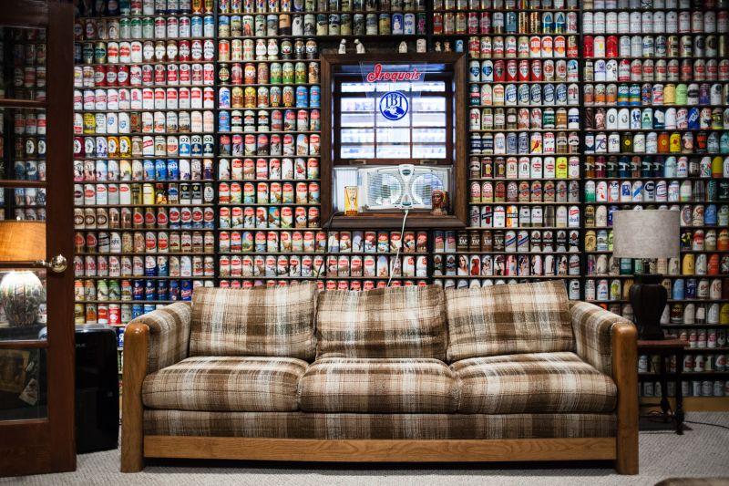 В США набирает обороты коллекционирование пивных банок