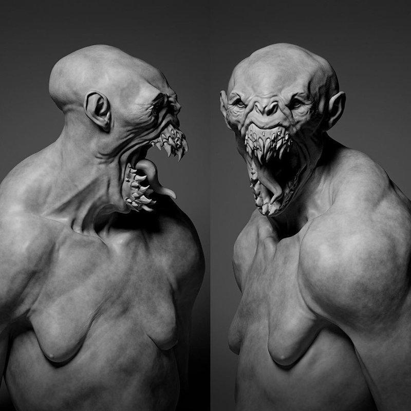 Жуткие монстры, которых вы точно не хотели бы встретить