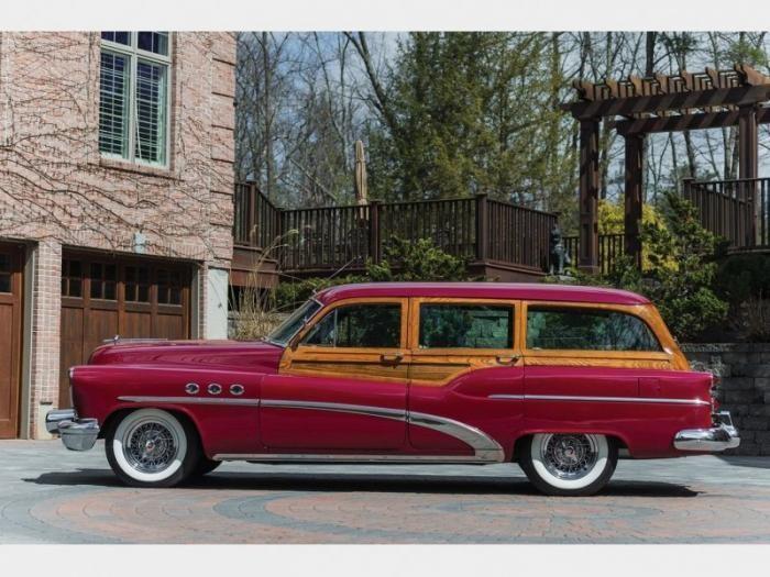 Buick Estate Wagon 1953 - деревянный универсал