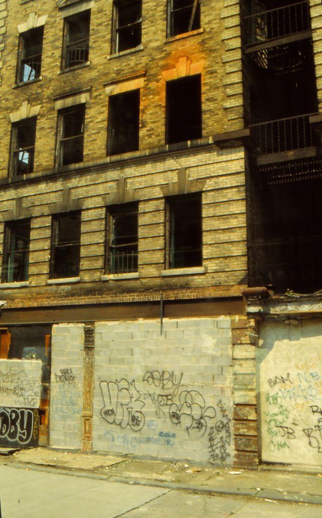 Фотографии Гарлема, Нью-Йорк, 1991 год