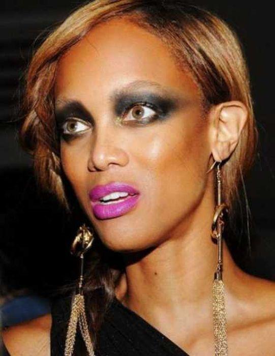 Провальный макияж знаменитостей