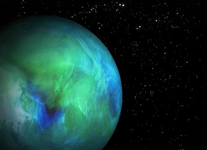 Фотографии космоса, а на самом деле еды