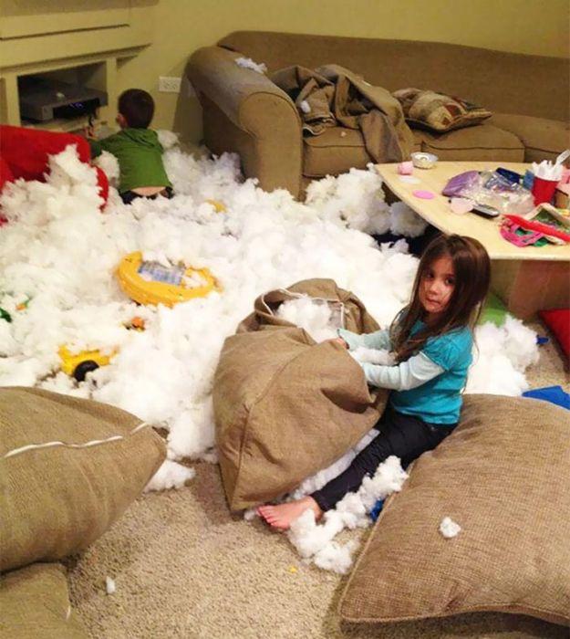 Когда дети остаются одни без присмотра