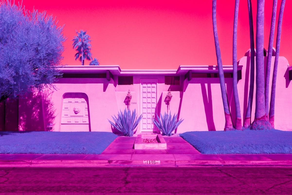 Пейзажи Калифорнии на инфракрасных фото Кейт Баллис