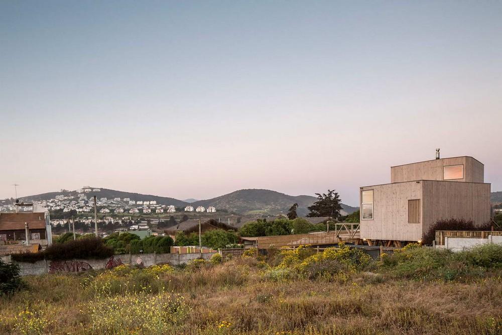 Резиденция с видом на океан в Чили