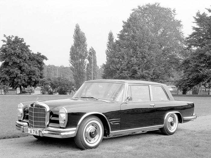 Редкие и крутые модели Mercedes-Benz