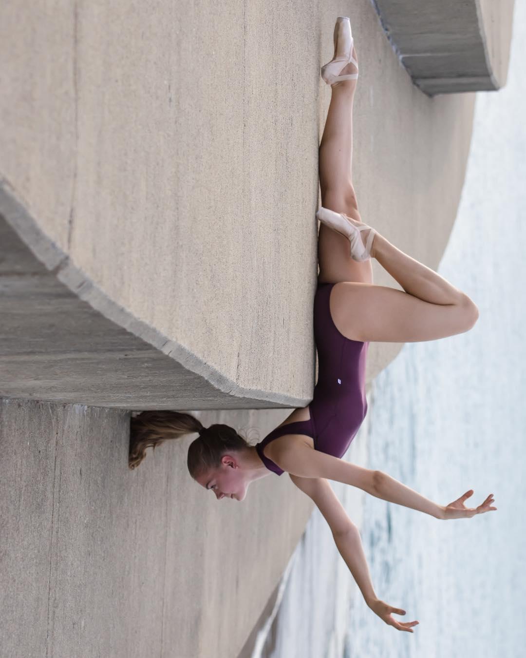 Балерины на улицах Чикаго