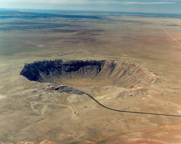Метеоритный кратер в Аризоне