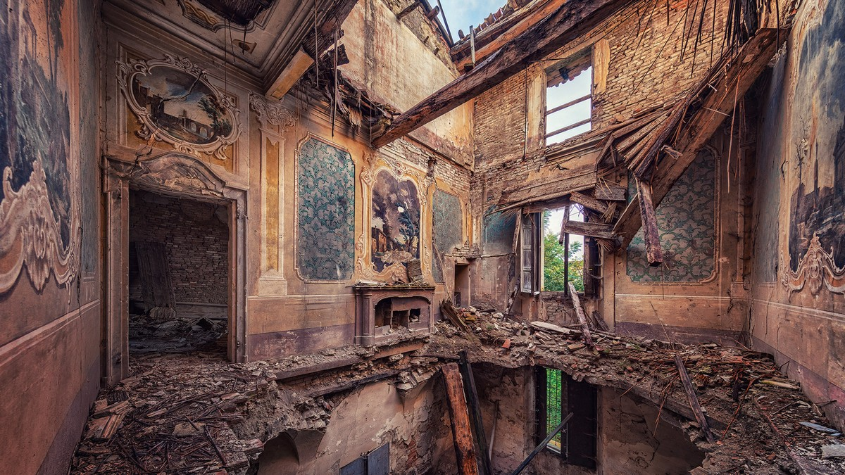 Оставленные людьми здания Европы на снимках Маттиаса Хакера