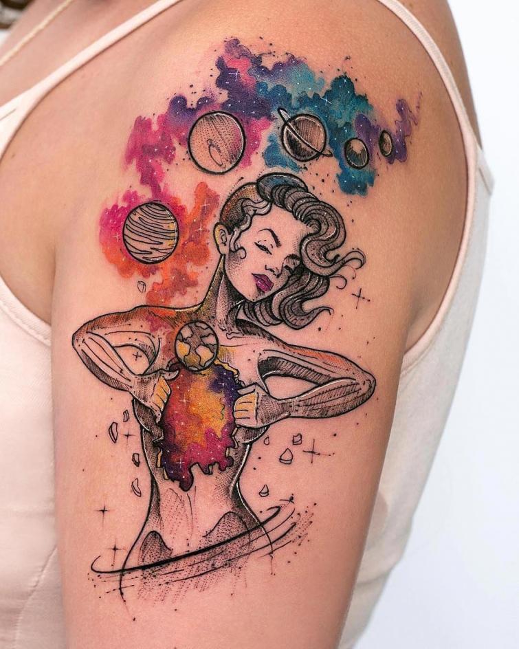 30 творческих татуировок