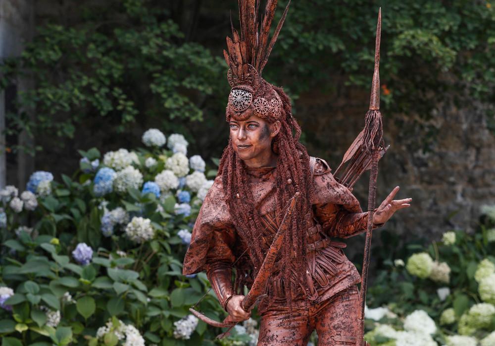 Фестиваль живых статуй в Бельгии 2018
