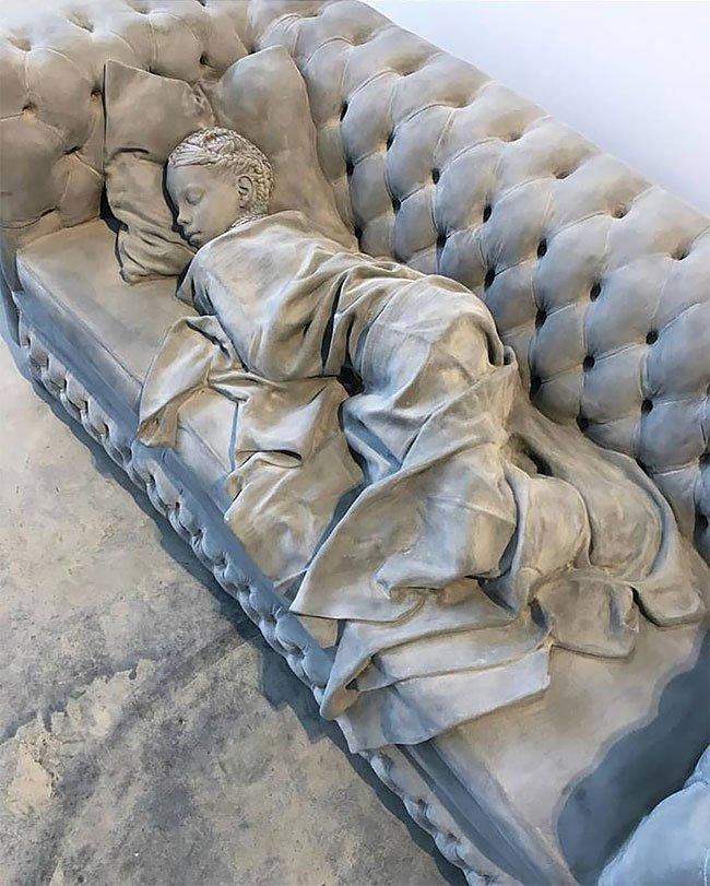 Реалистичные скульптуры от Ханса Оп де Бека