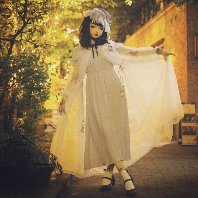 Эта девушка из Японии выглядит как кукла