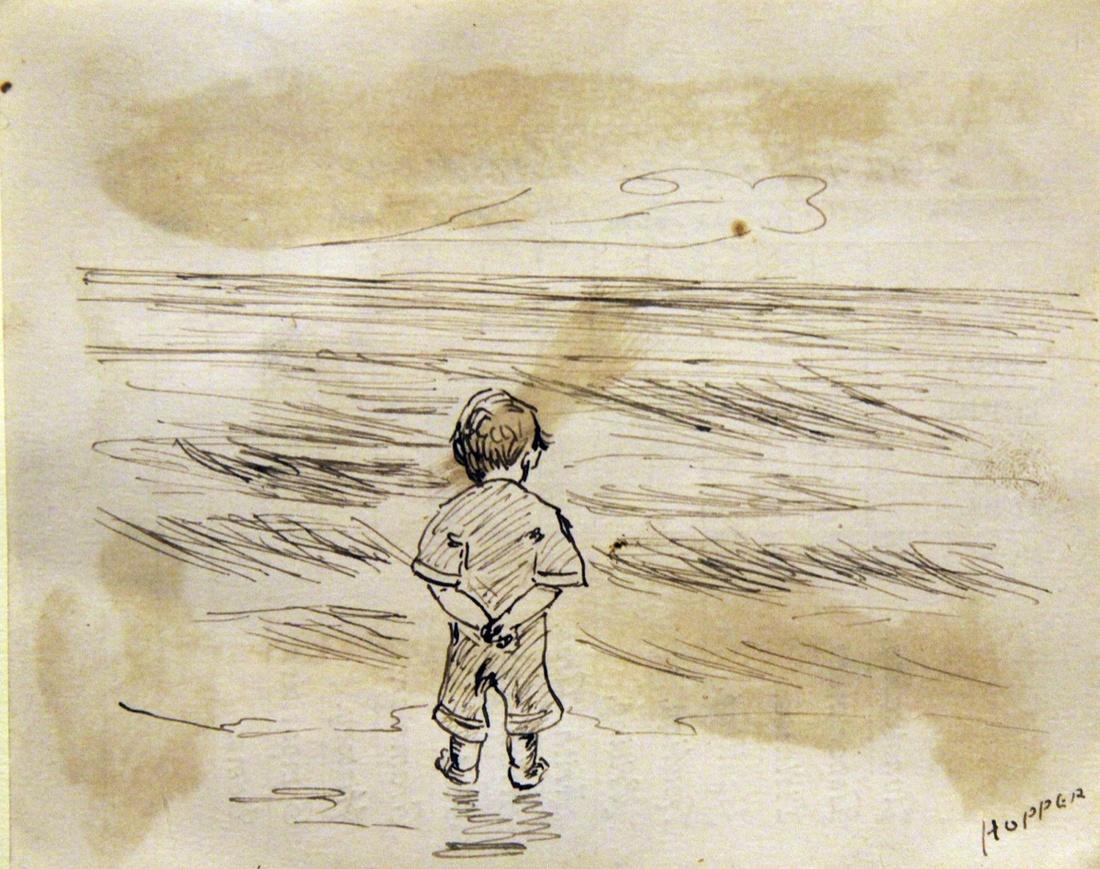 Детские работы нескольких выдающихся художников