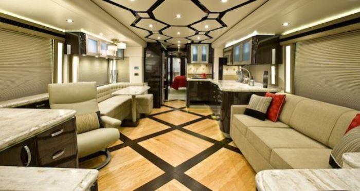 Роскошные дома на колесах для комфортного кемпинга