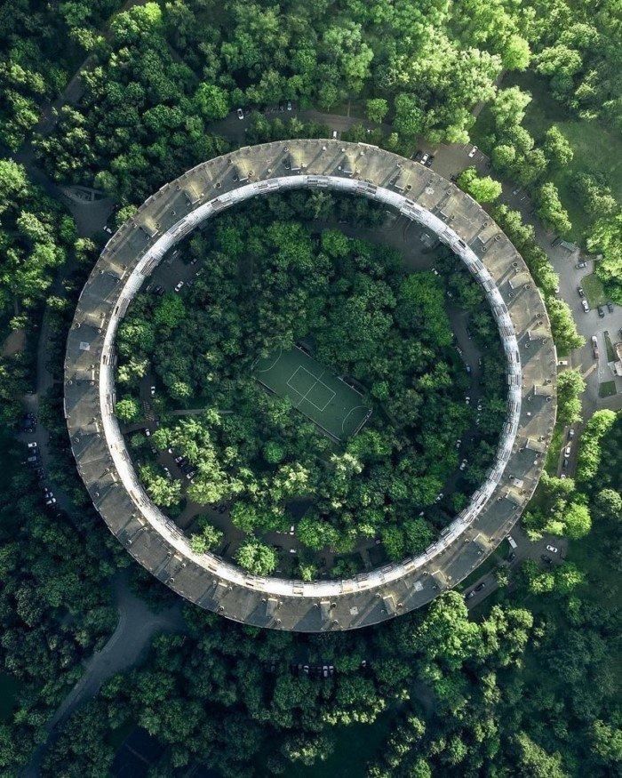 20 шикарных фотографий, сделанных с помощью дронов