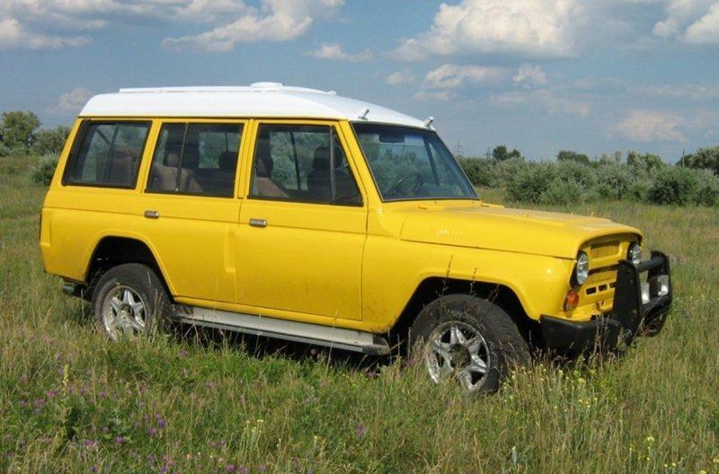 Примеры отличного тюнинга УАЗ