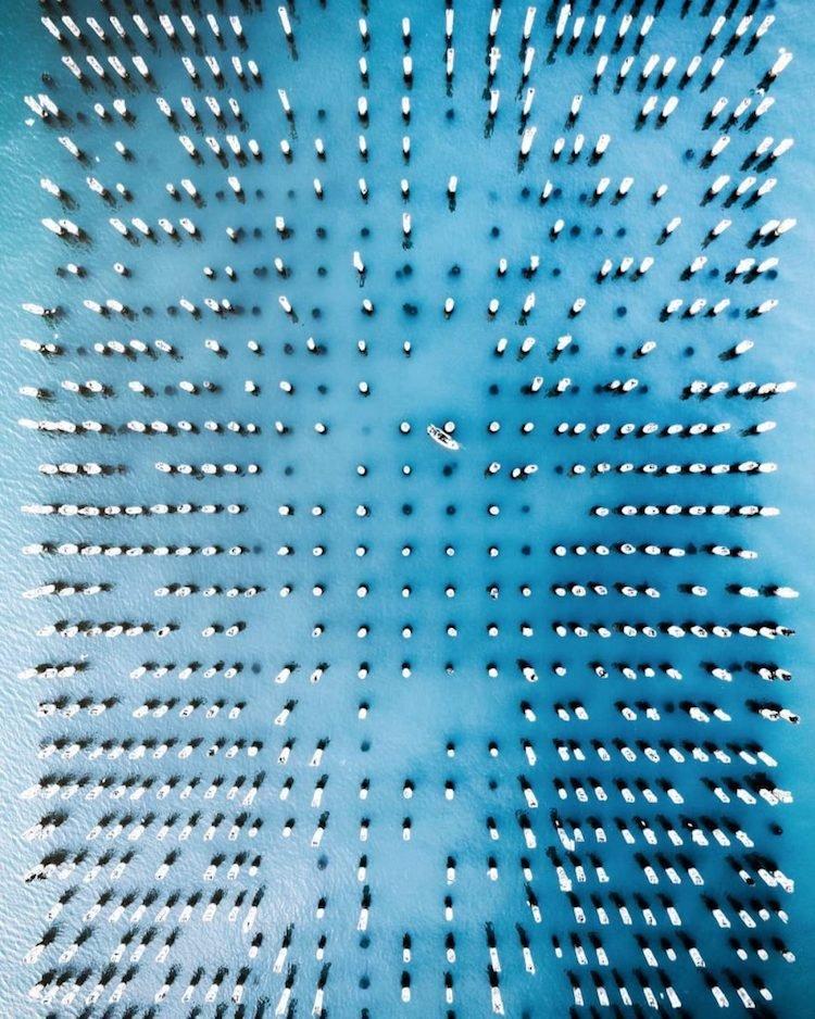 Скрытые узоры на снимках с дрона от Демаса Русли