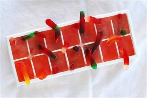 Идеи использования формочек для льда на фото