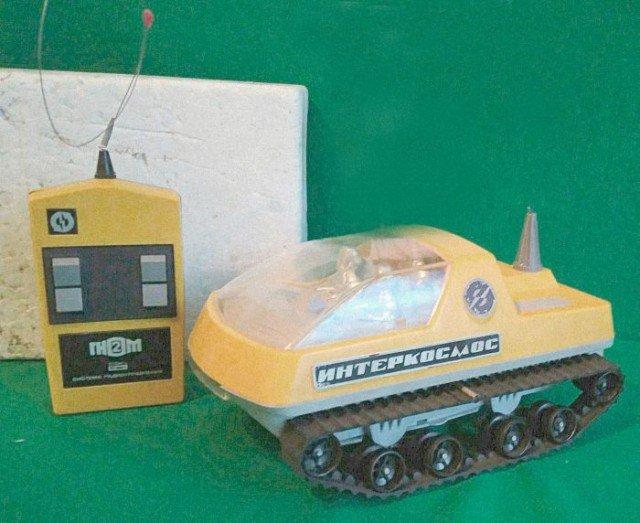Управляемые игрушки, о которых мечтали все советские мальчишки